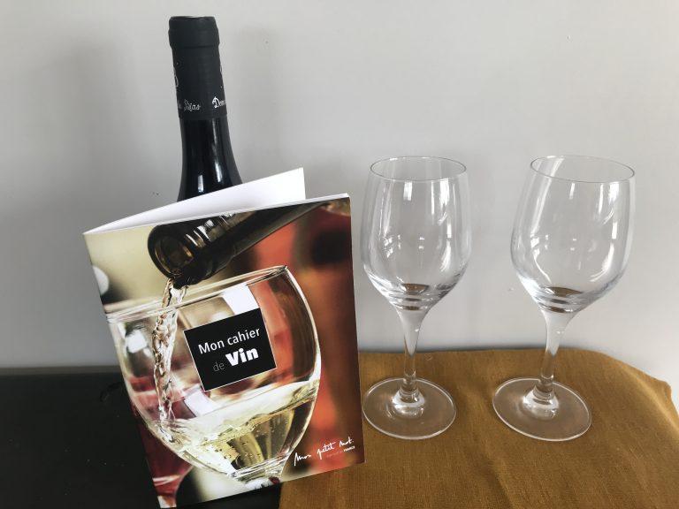 carnet vin fabriqué en france