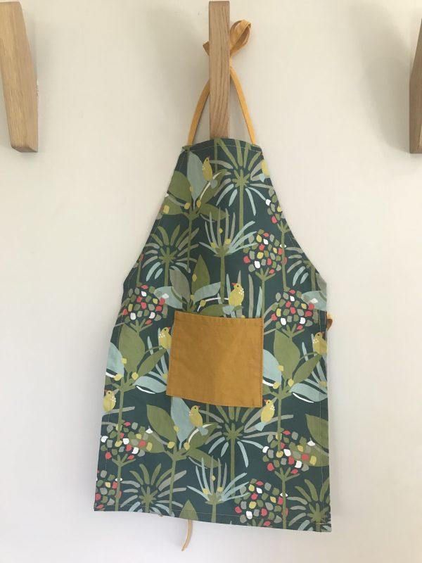 tablier enfant maternelle tropical fabriqué en aveyron