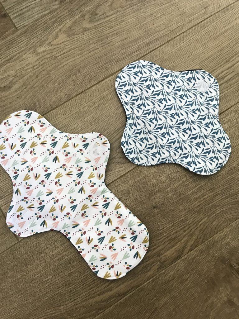 serviettes hygiéniques lavables fabriquées en france