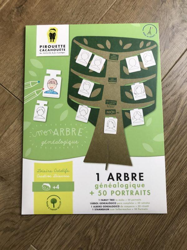 kit creatif arbre genealogique fabriqué en france